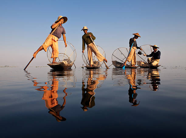 Fisher, Myanmar – Foto