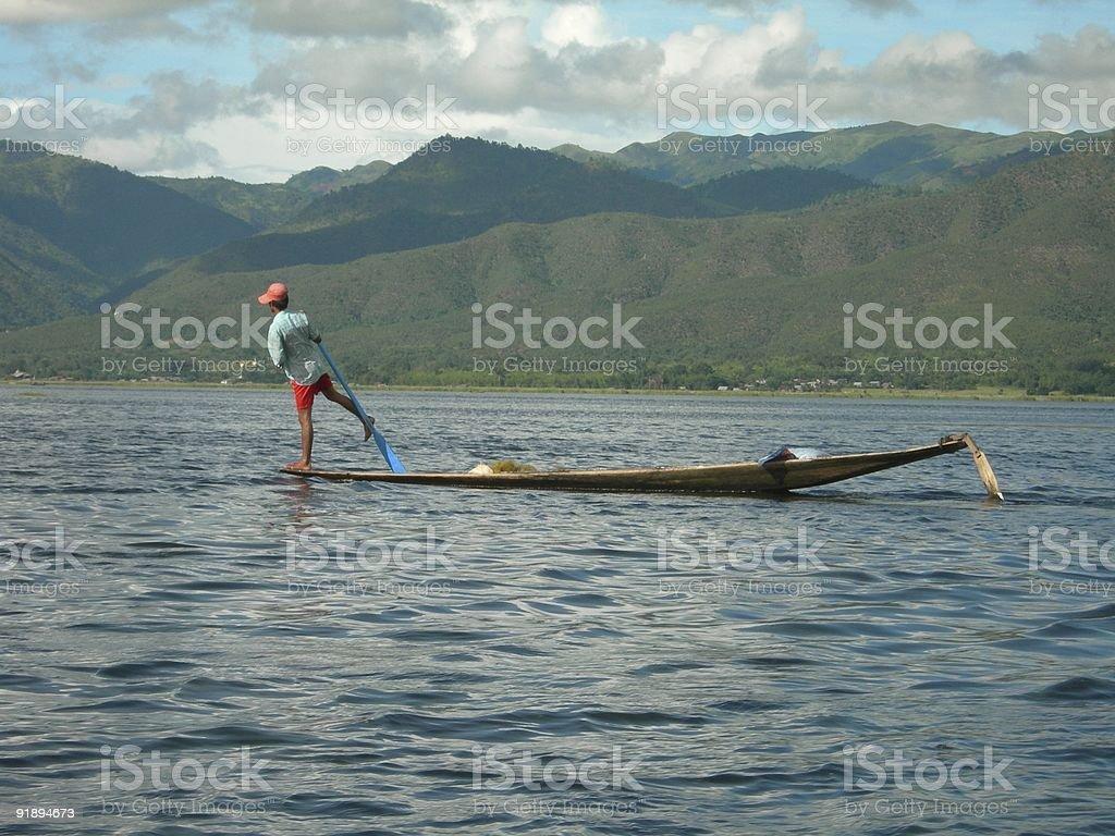 Fisherman 02 royalty-free stock photo