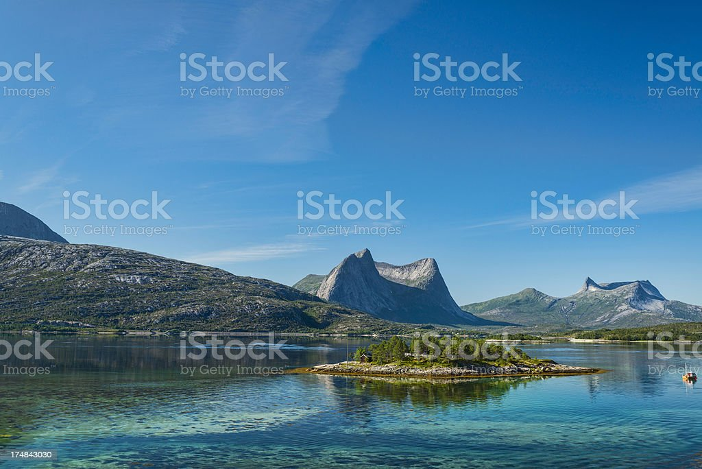 Fisherman Island royalty-free stock photo