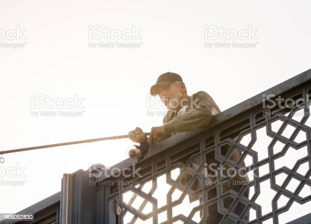 Fiskare På Galata Bron Över Bosporen I Istanbul-foton och fler bilder på Behornad