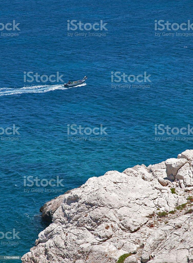 Fisherman stock photo