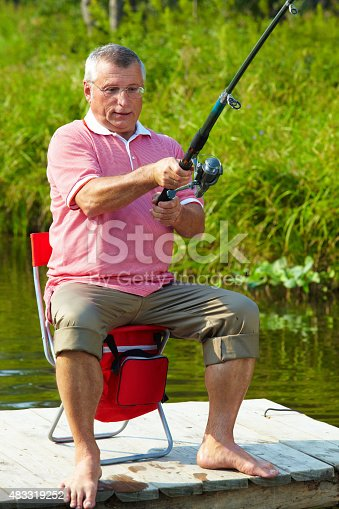 istock Fisherman 483319252