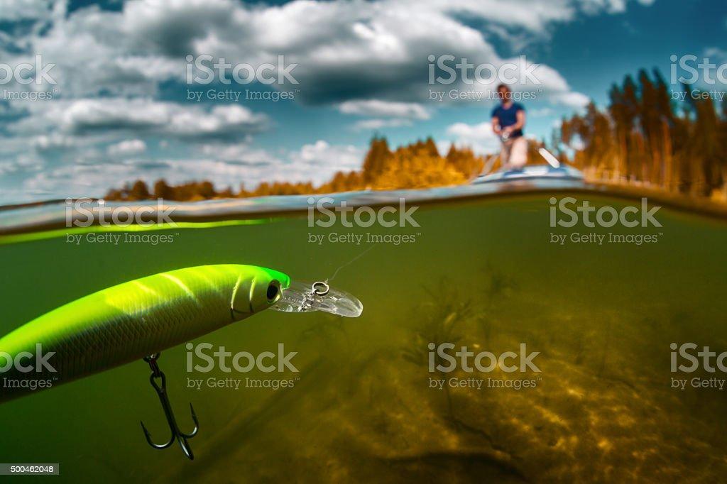 Pescatore - foto stock