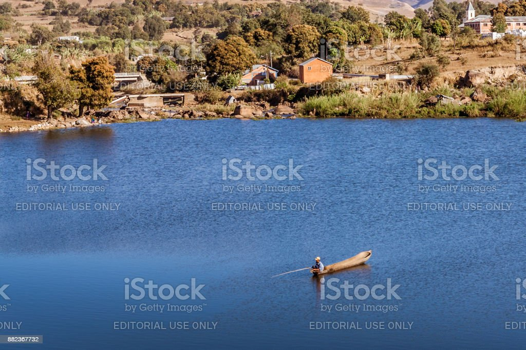 Fisherman stock photo