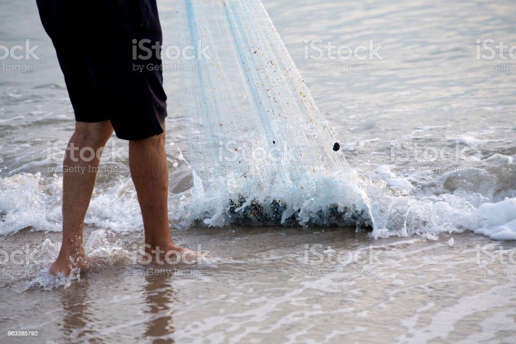 fisherman - Zbiór zdjęć royalty-free (Antycypacja)