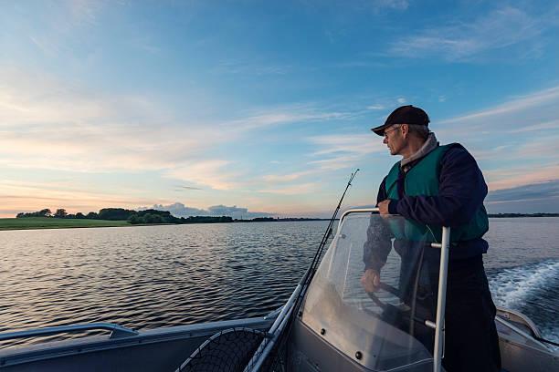 fisherman hause - angeln dänemark stock-fotos und bilder