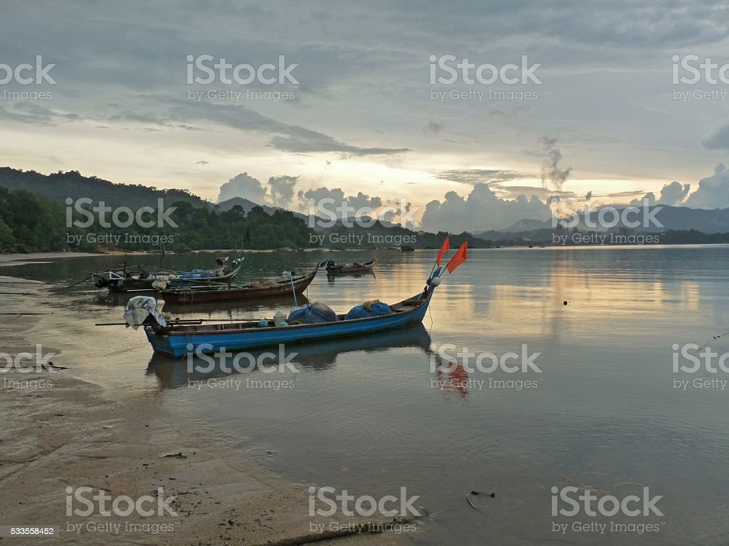 Fisherman's Boat 1 stock photo