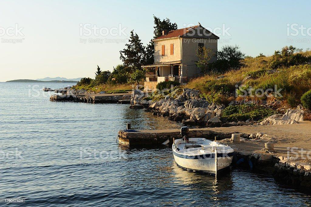 Fisherman's house - foto de acervo