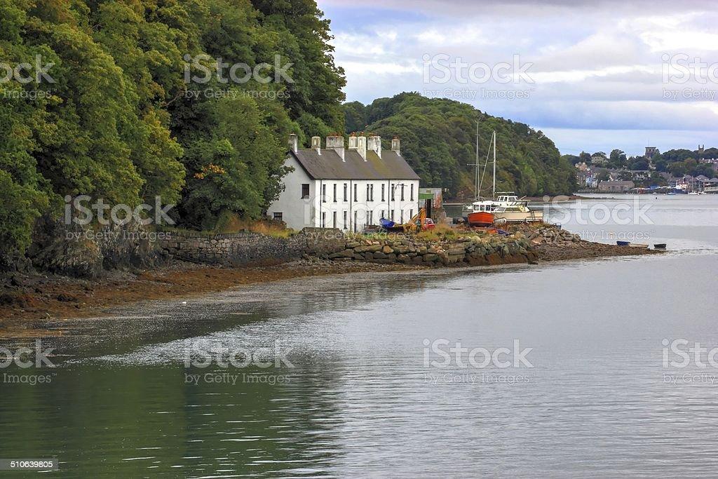 fishermans house. stock photo