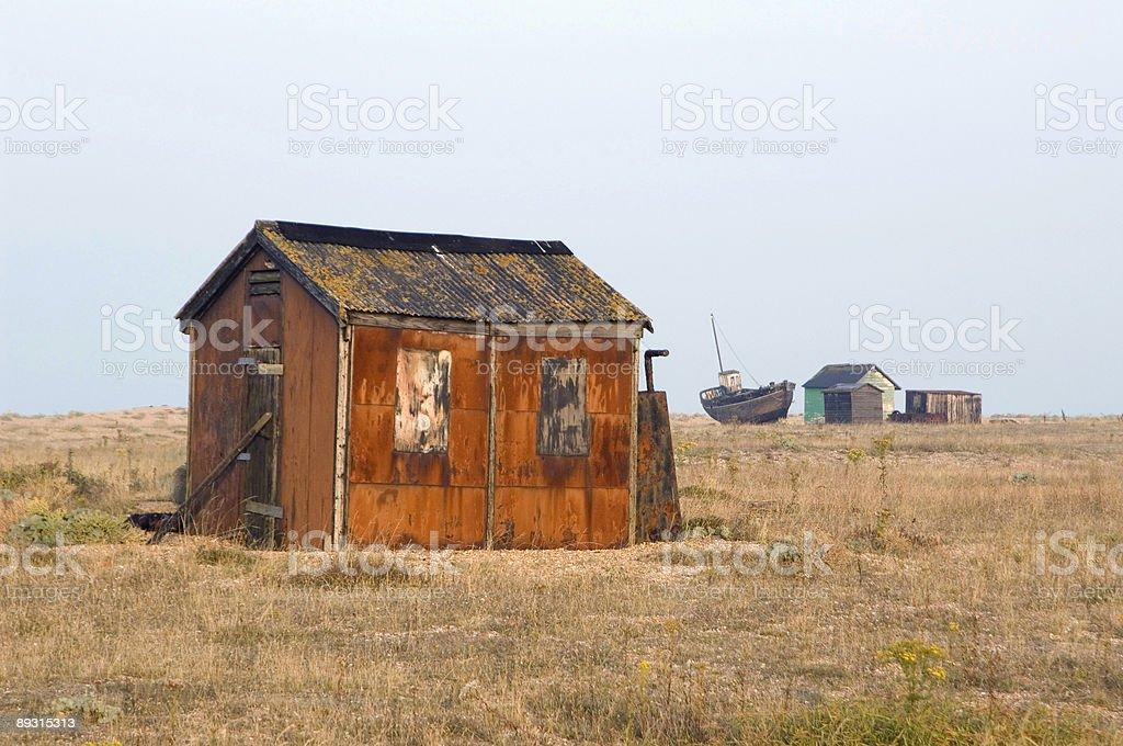 Fisherman's Hut England royalty-free stock photo