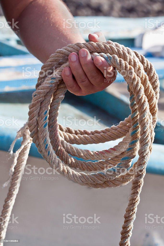 Corda de Pescador foto de stock royalty-free