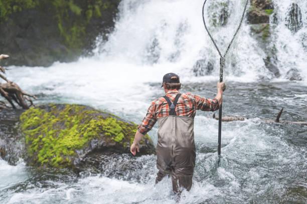 A Fisherman's Tale stock photo