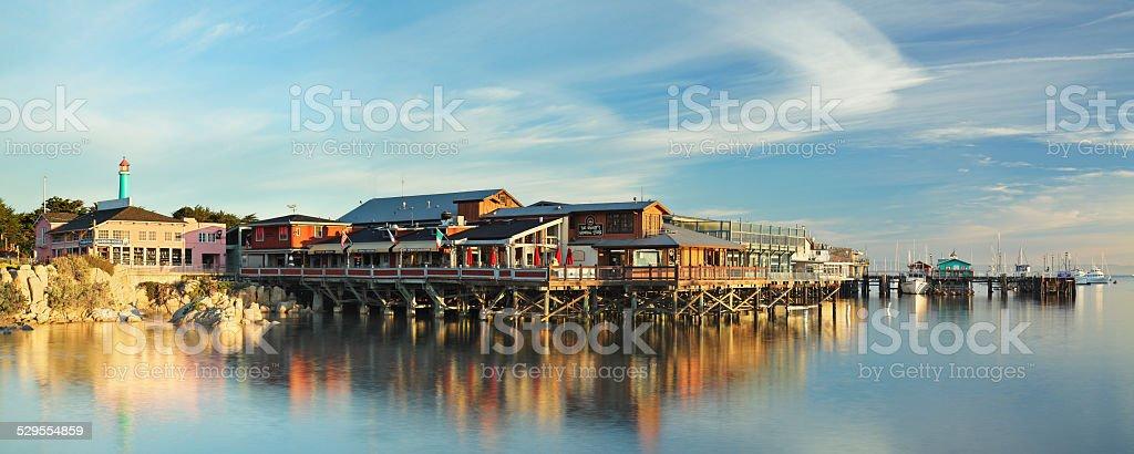 Fisherman's Wharf - Monterey stock photo