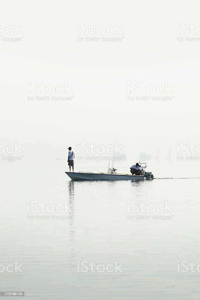 fishermen 2 royalty-free stock photo