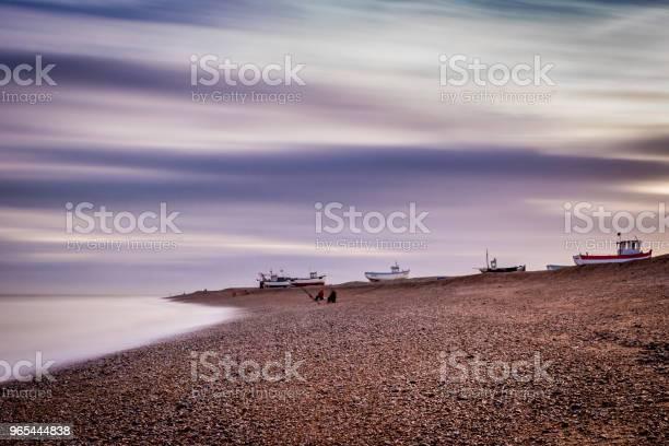 Fischer Am Strand Von Dungeness Stockfoto und mehr Bilder von Alt