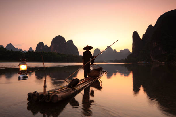Fishermen on Li River