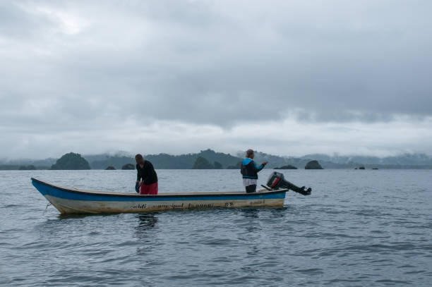 Fischer an die kolumbianische Pazifikküste – Foto