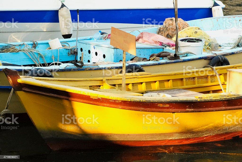 Fishermen's Boat stock photo
