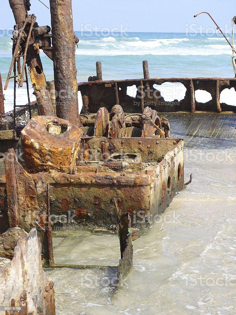Fishermen's Shipwreck royalty-free stock photo