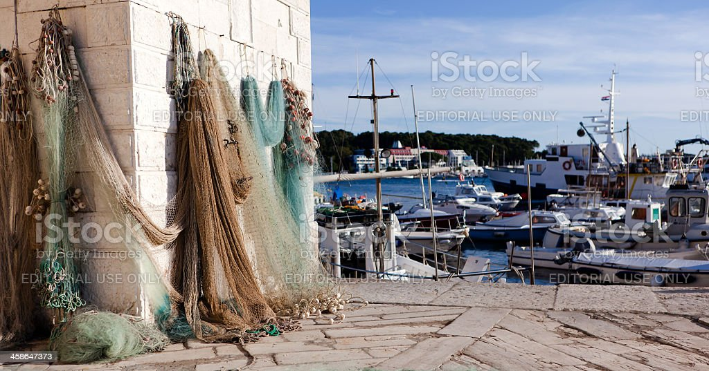 Fishernet royalty-free stock photo