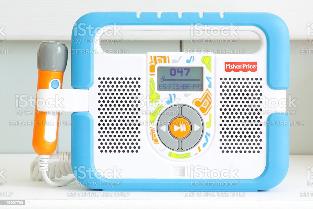 Fisherprice Kidtough Music Player With Microphone Stock Photo & More Pictures of Arts Culture ...