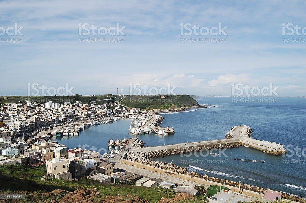 Fishery Harbor royalty-free stock photo