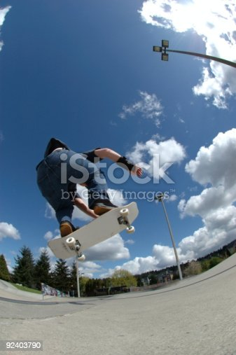istock Fish-Eye Fly Out 92403790