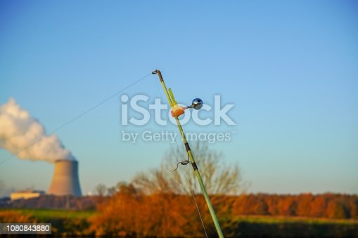 1094918172 istock photo Fishing at a river in Germany 1080843880