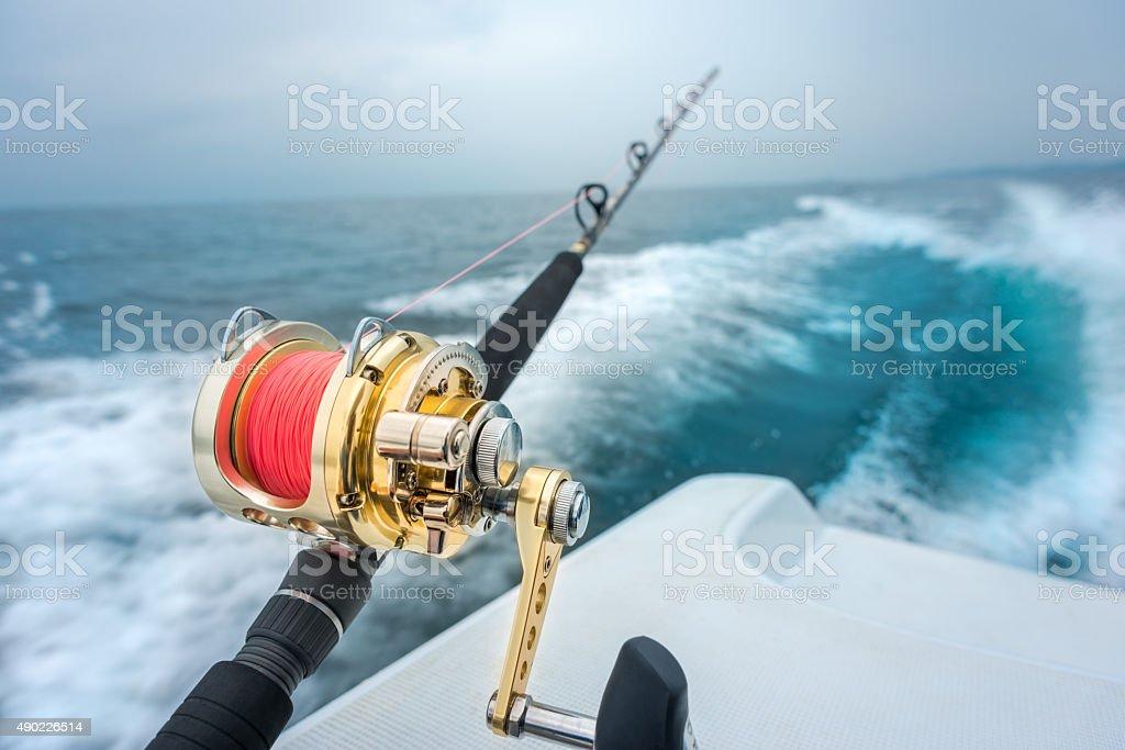 Fishing Background. stock photo