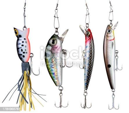 istock Fishing baits. 178496576