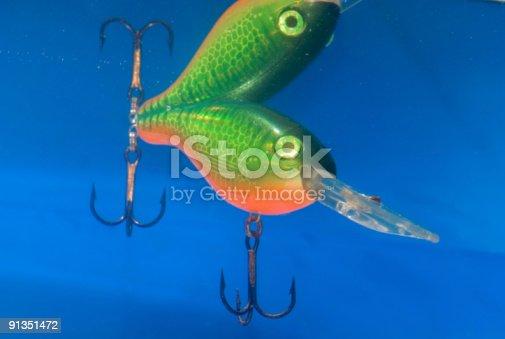 istock fishing bait,wobbler 91351472