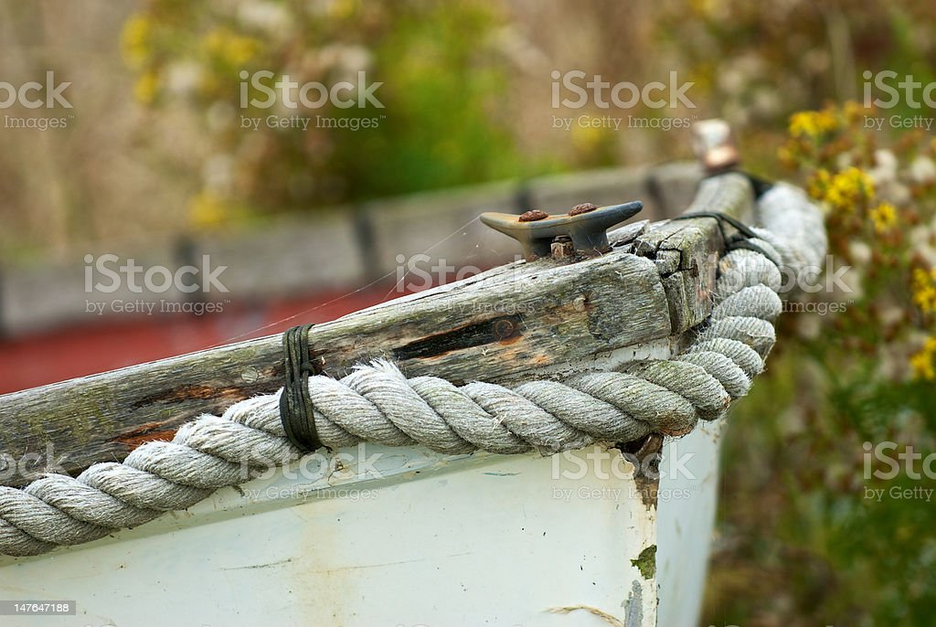 Fishing Boat Bow royalty-free stock photo