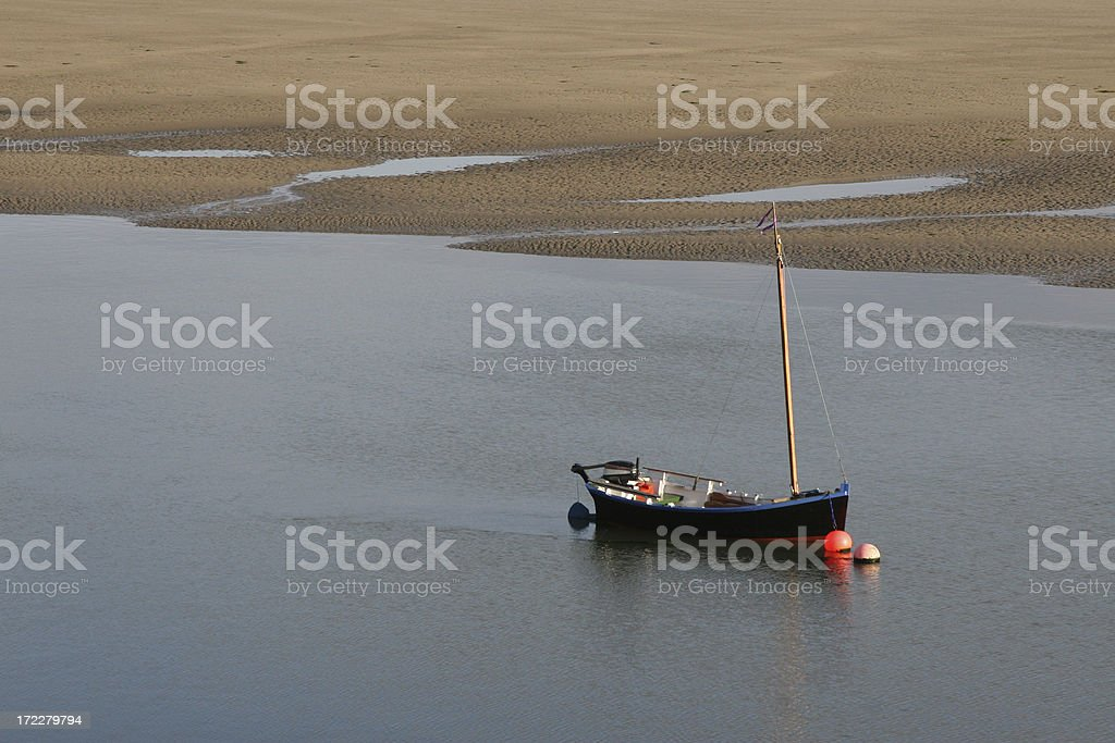 Fishing boat, Conakilty, Atlantic Coast, Ireland stock photo