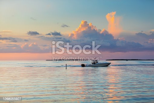 Fishing boat in the Florida Keys