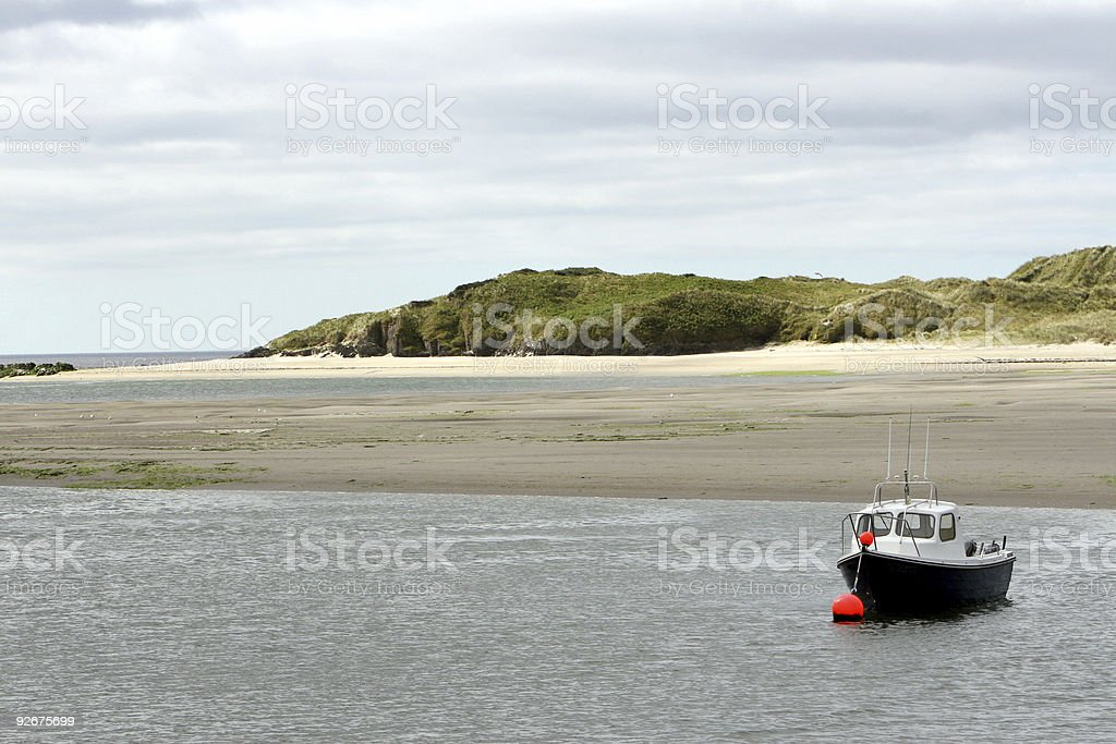 Fishing Boat, Inchydoney Island, Clonakilty, South West Ireland stock photo