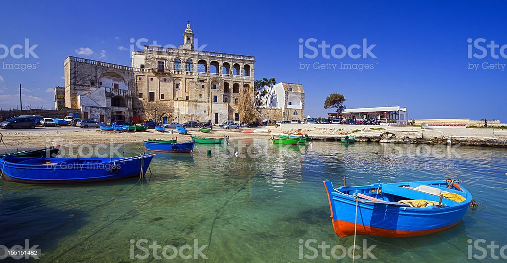 Fishing Boat Italy stock photo