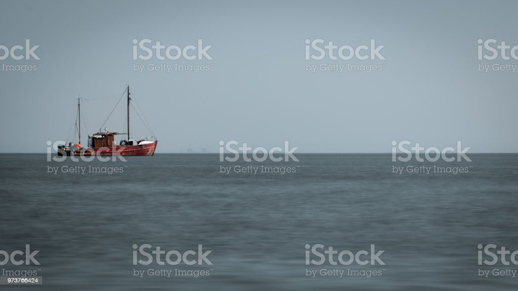 Fishing Boat on Baltic Sea – zdjęcie