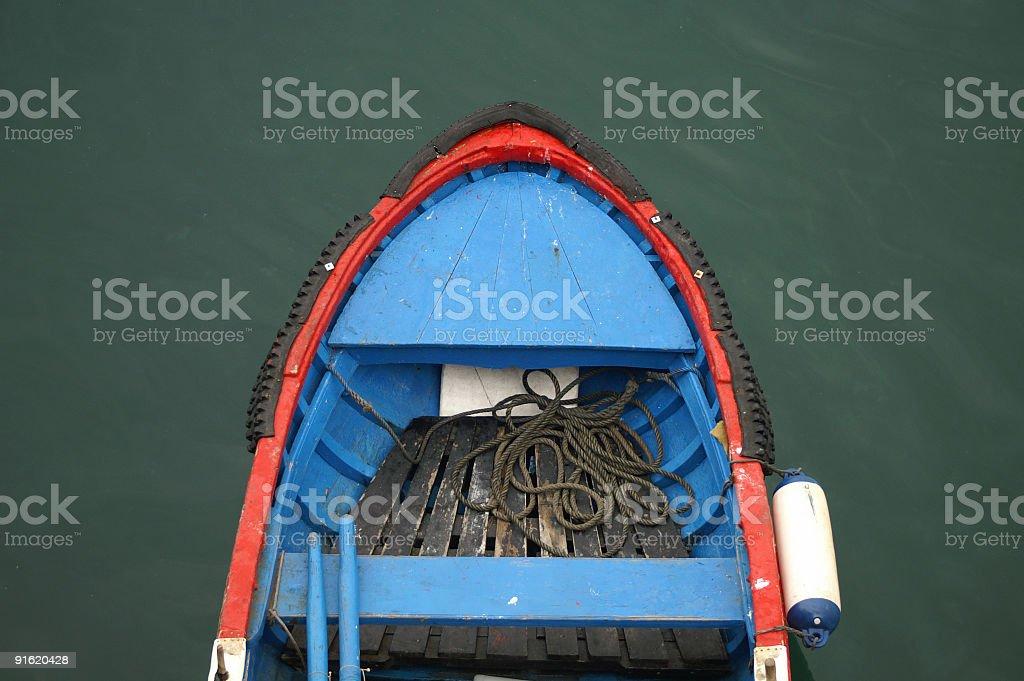Fishing boat stock photo