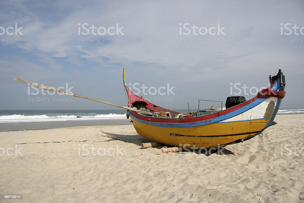 Barca da pesca foto stock royalty-free
