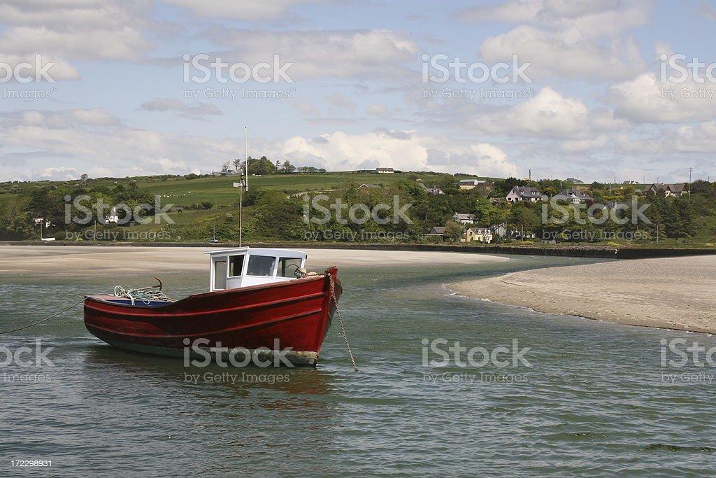 fishing boat, Rosscarbary,  County Cork Ireland royalty-free stock photo