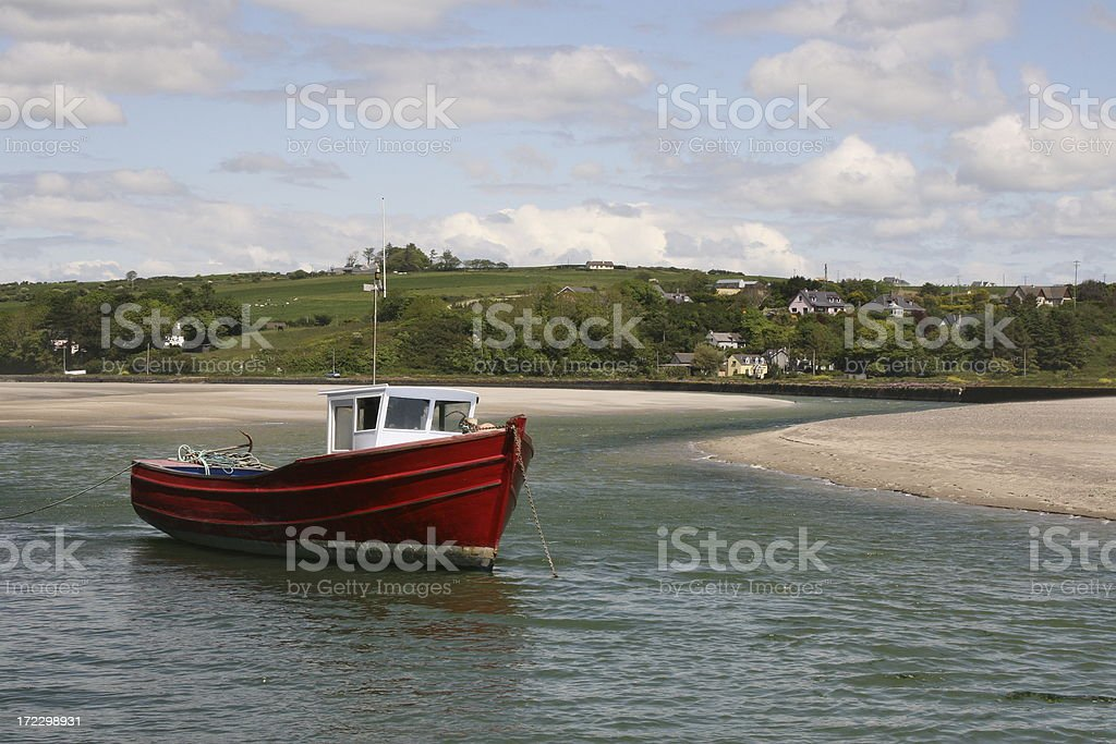 fishing boat, Rosscarbary,  County Cork Ireland stock photo