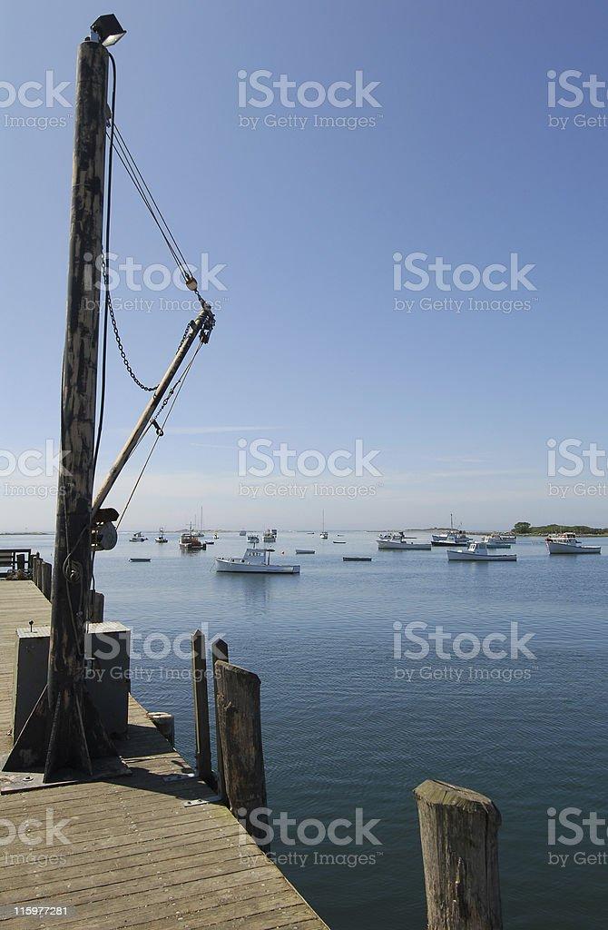 Fishing Boats, Cape Porpoise royalty-free stock photo