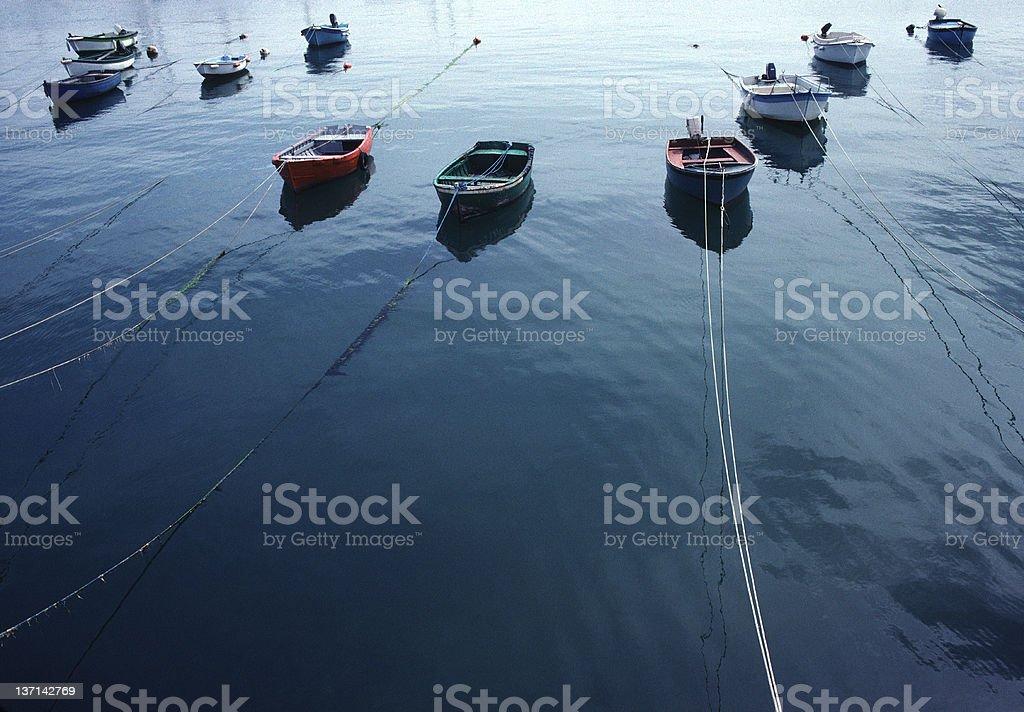 Fishing Boats, France stock photo