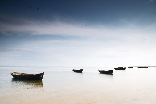 Fishing Boats Stock Photo - Download Image Now
