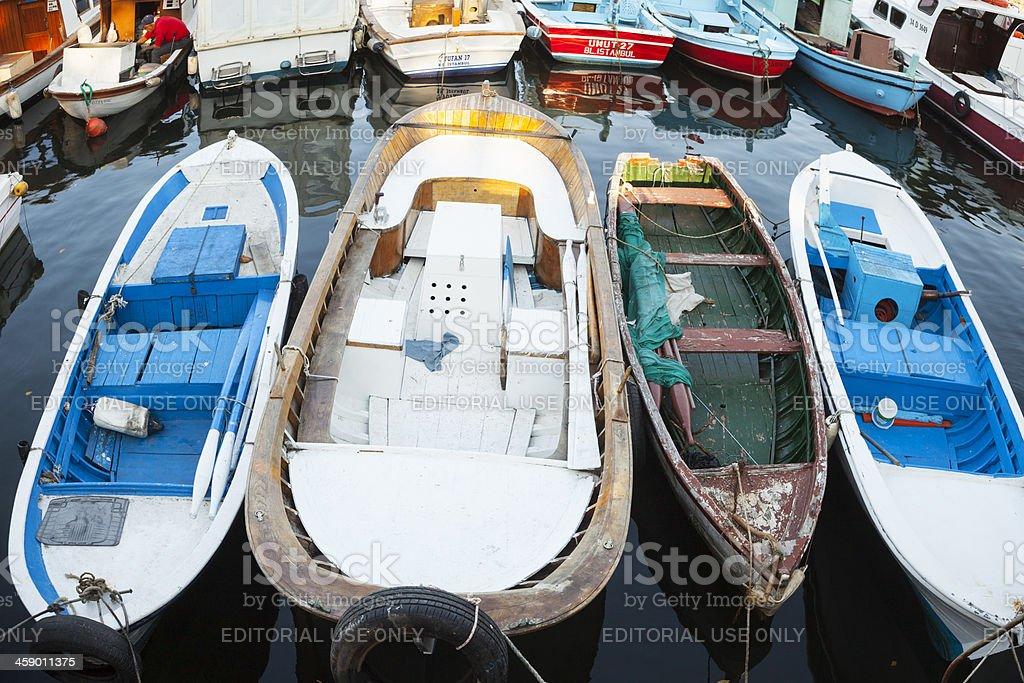 Fishing boats. royalty-free stock photo