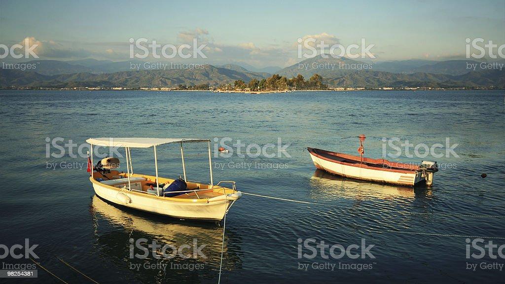 Barche da pesca foto stock royalty-free