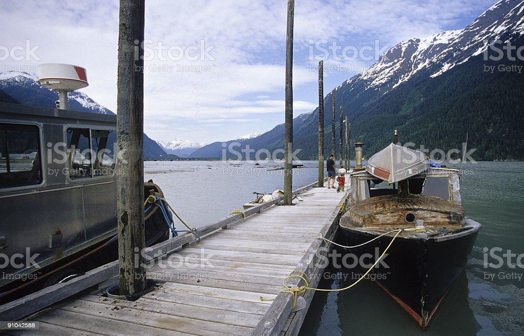 Fishing Boats, Portland Canal stock photo
