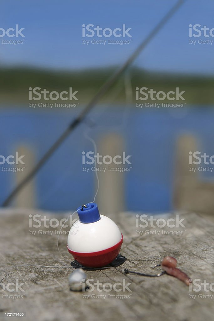 Fishing Bobber stock photo