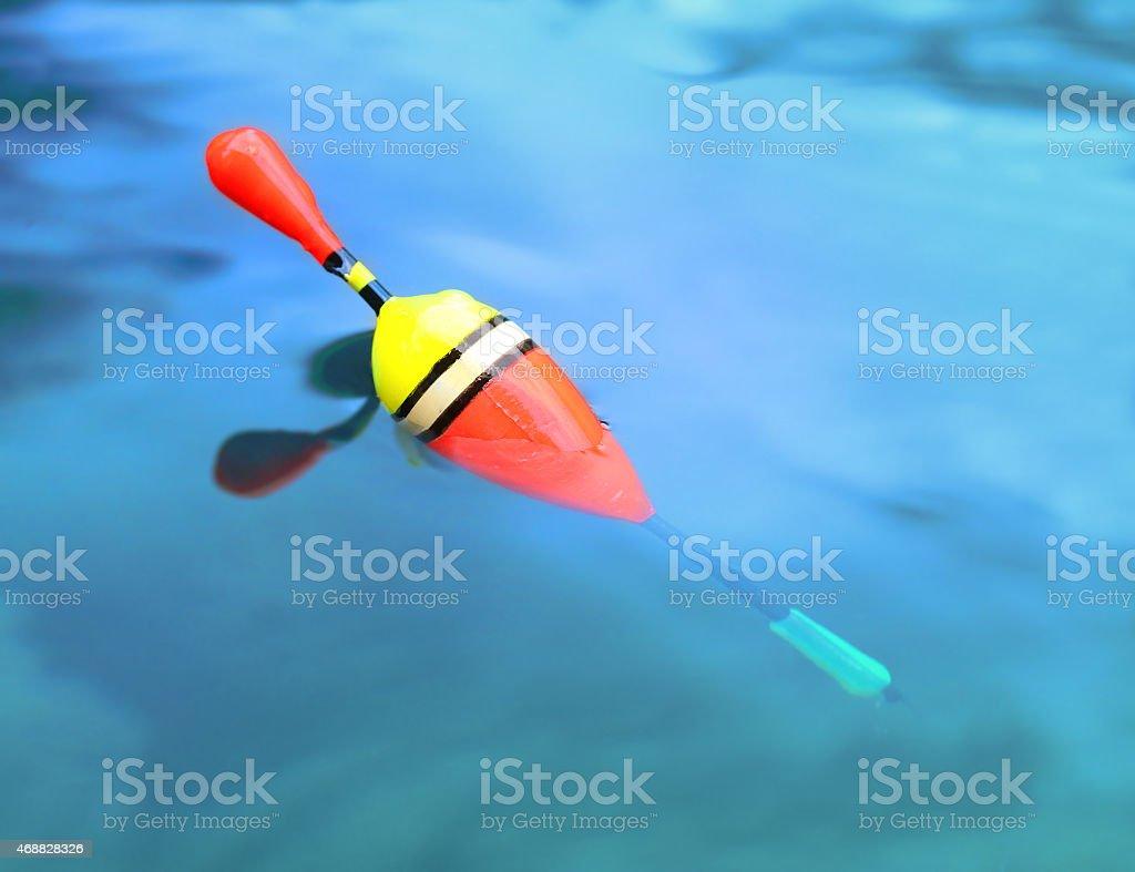 Fishing bobber. stock photo
