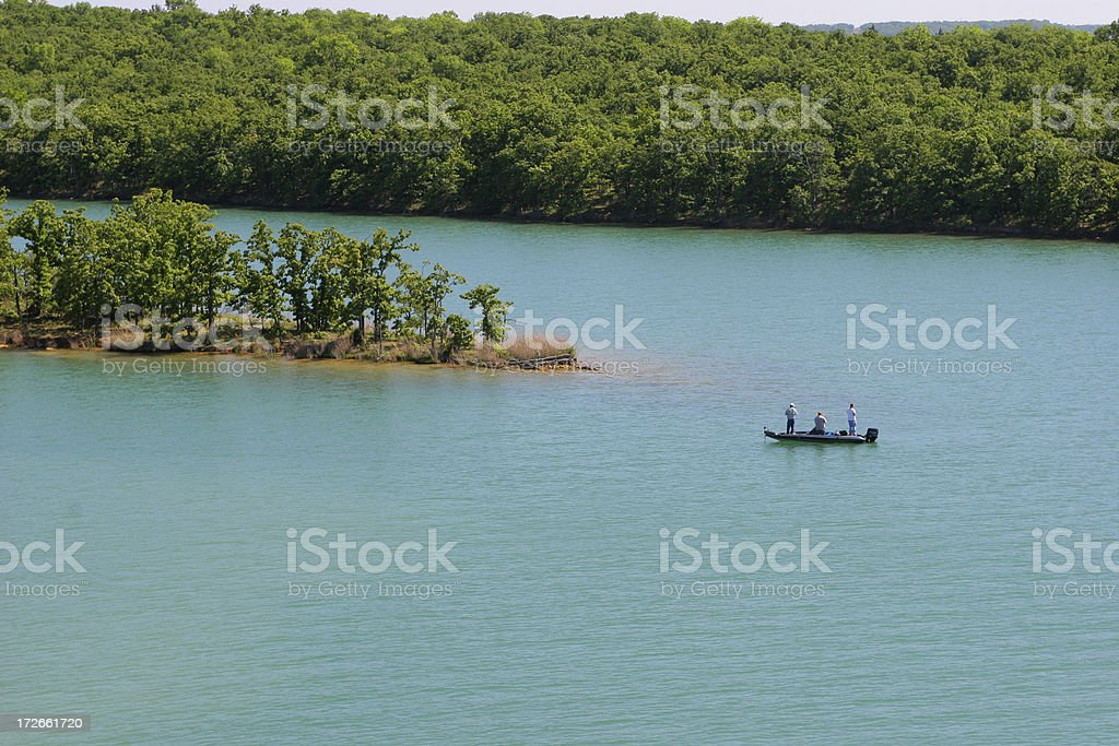 Fishing Buddies royalty-free stock photo